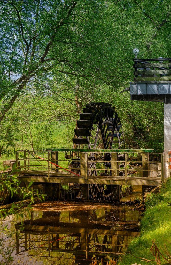 Mühlen mahlen langsam